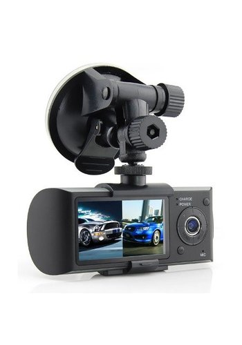 Neckermann Dashcam - Doppelte Autokamera mit DVR