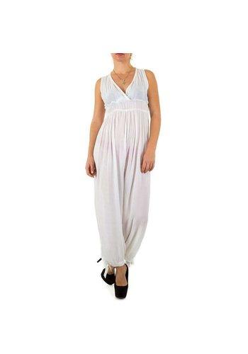 100%25 FASHION PARIS Mesdames Combinaison Gr. une taille - blanc