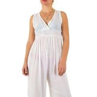 Damen Jumpsuit Gr. eine Größe - weiß