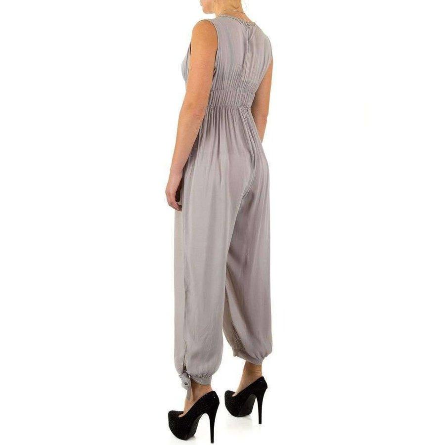 Damen Jumpsuit Gr. eine Größe - grau