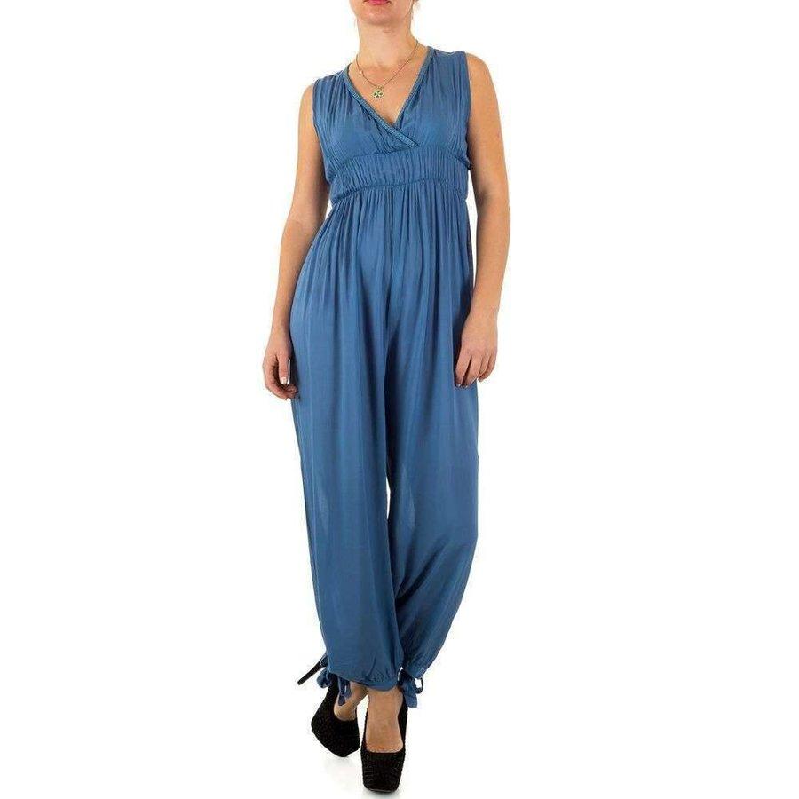 Damen Jumpsuit Gr. eine Größe - blau