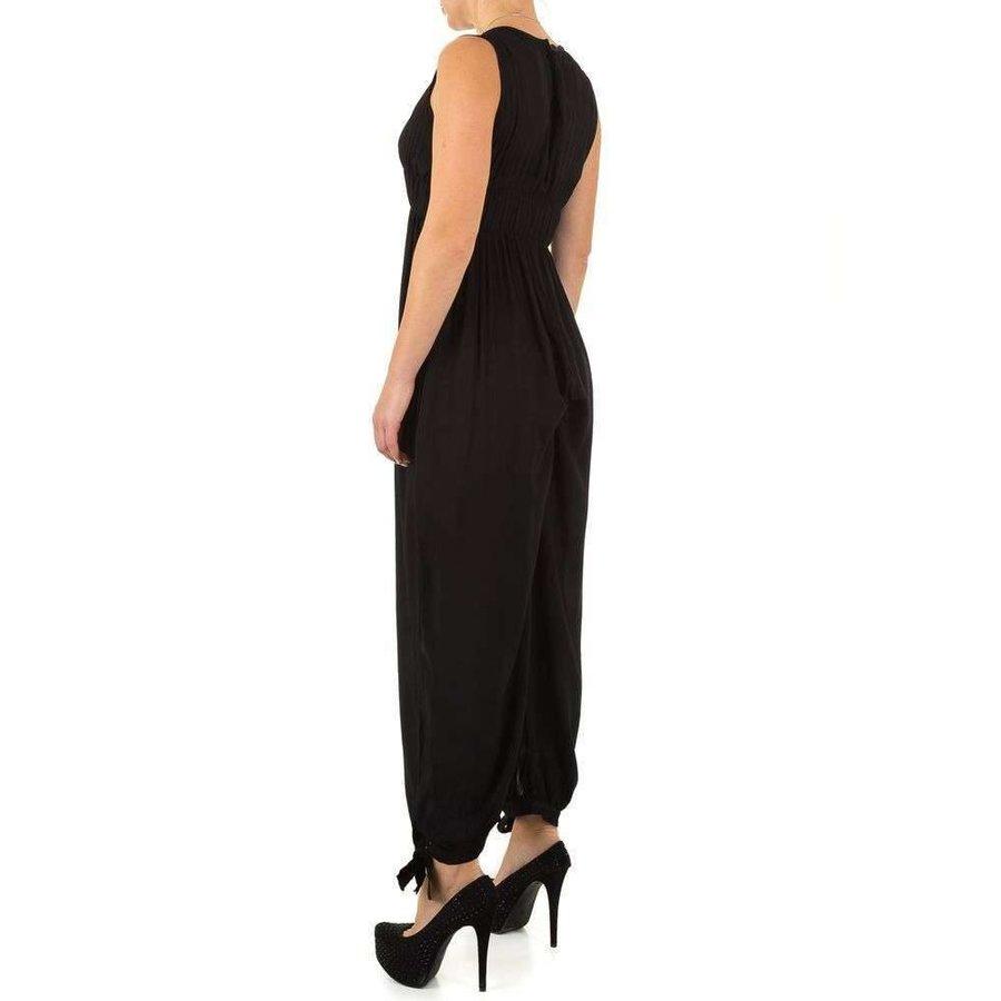 Damen Jumpsuit Gr. eine Größe - schwarz
