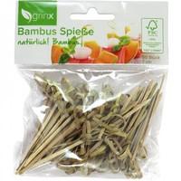 Bamboe spiesjes - 7 cm - 50 stuks