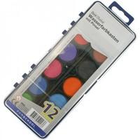 Waterverf - 12 kleuren - XL