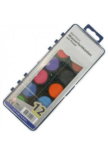 Best Choice Waterverf - 12 kleuren - XL