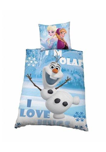 Disney Dekbedovertrek licentie Frozen Olaf
