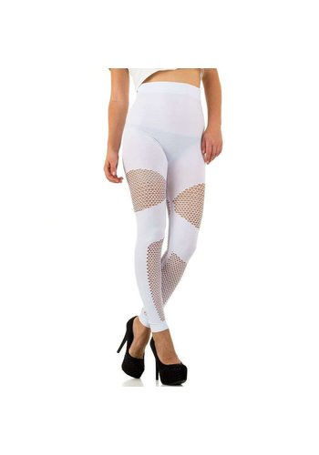 HOLALA Dames Leggings van Holala one size - Wit
