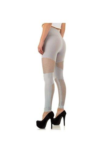 HOLALA Dames legging van Holala Gr. een maat - grijs
