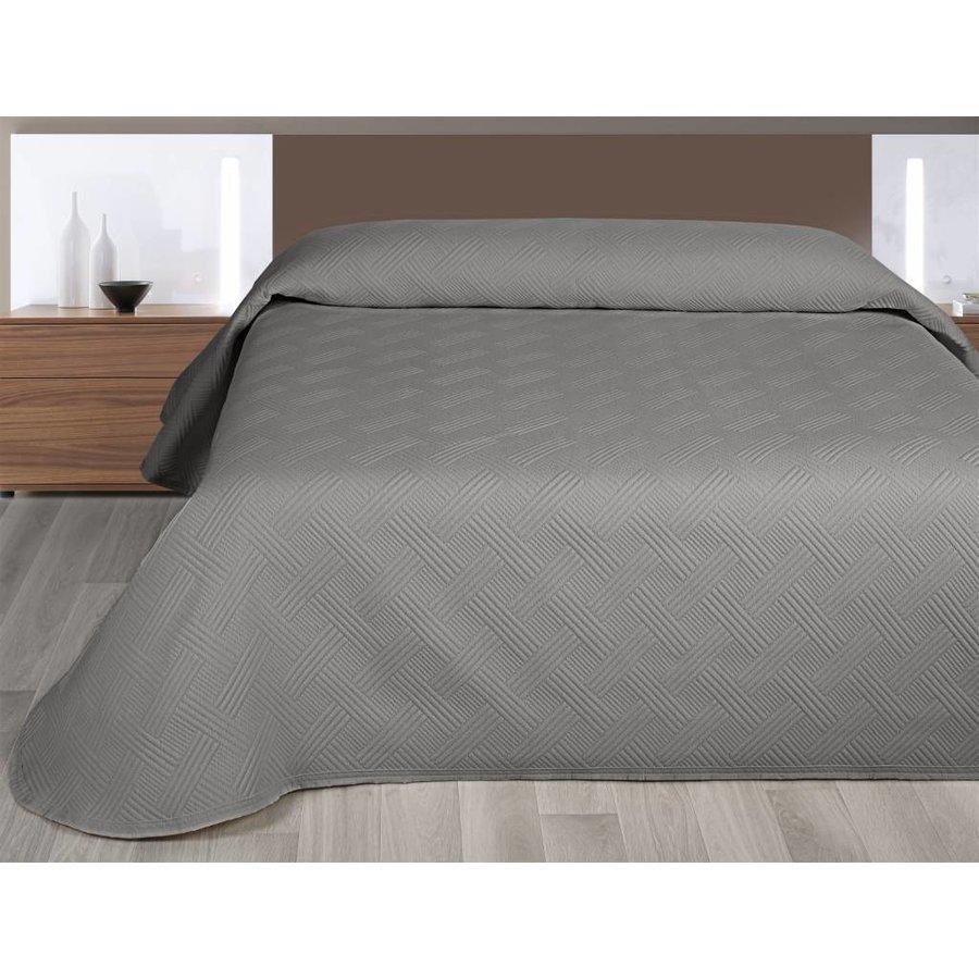 Bedsprei Gwen - Antraciet - 270x260 cm