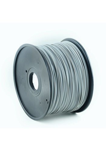 Gembird3 PLA Filament Grijs, 1.75 mm, 1 kg
