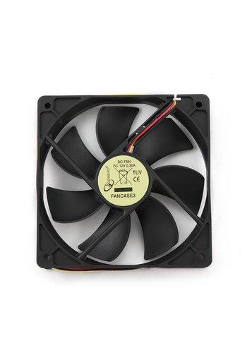 Gembird Ventilator voor PC behuizing, 120mm x 120mm x 25 mm