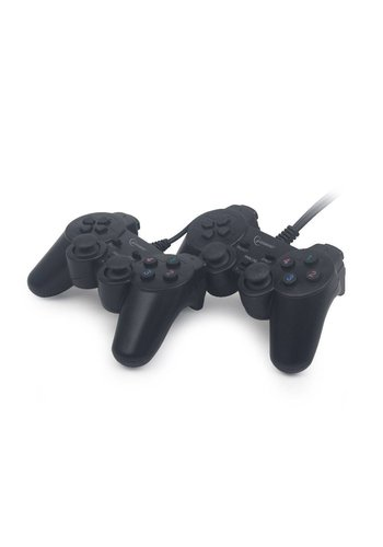 GMB Gaming Double USB Gamepad mit Dual-Vibration