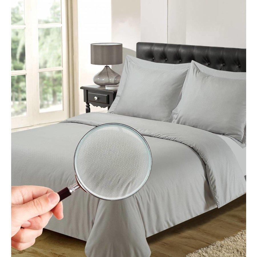 Bettbezug Luxus Athen Silbergrau