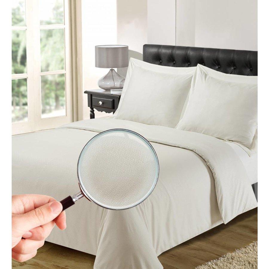 Bettbezug Luxus Athen Weiß