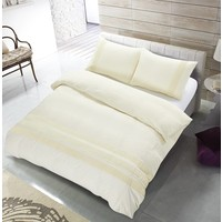The Supreme Home Collection Avenza 240x200/220 +2*60x70 cm Creme