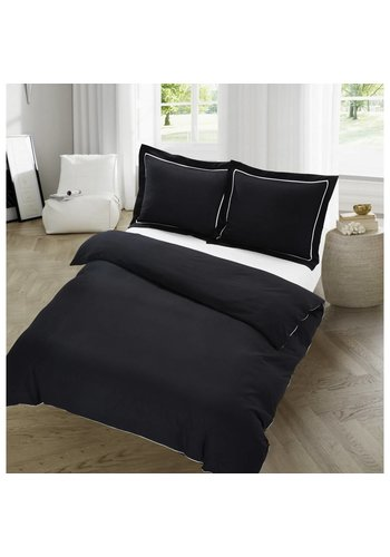 The Luxury Home Collection The Luxury Home Collection Dijon 140x200/220 +1-60X70 cm Black