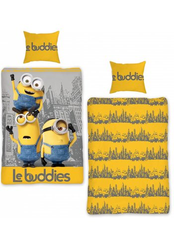 Universal Pictures Dekbedovertrek Minions Le Buddies 2