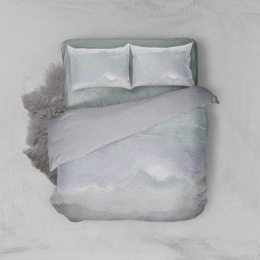 Dekbedovertrek Watercolor Soft Blue