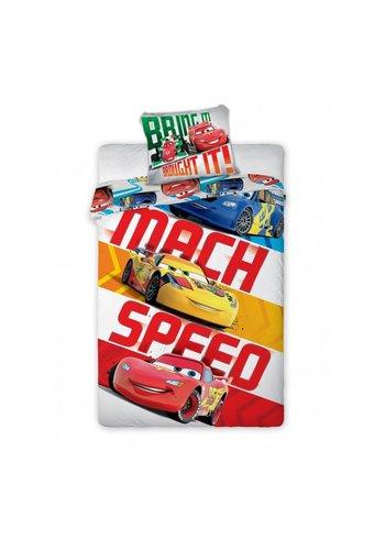 Disney Dekbedovertrek Cars2 Mach Speed 140cmx200cm