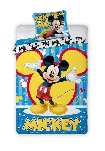 Disney Dekbedovertrek Mickey Mouse Bubbles 140cmx200cm