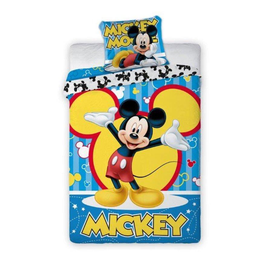 Dekbedovertrek Mickey Mouse Bubbles