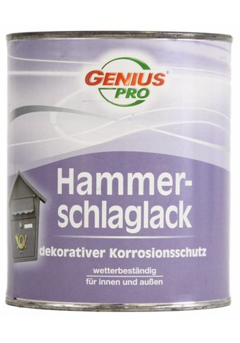 Genius Pro Hamerslag - metaallak - koper - 750 ml