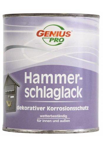 Genius Pro Hammerschlag - Metalllack - Silber - 375 ml