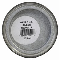 Hammerschlag - Metalllack - Silber - 375 ml