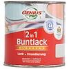 Genius Pro Hochglanz 2 in 1 Farbe - Ton braun - 125 ml