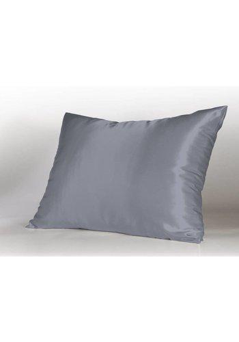 SHINE Bedding SHINE Haircare Slopen zilver 100 % microlinnen 60x70 (2) plat verpakt