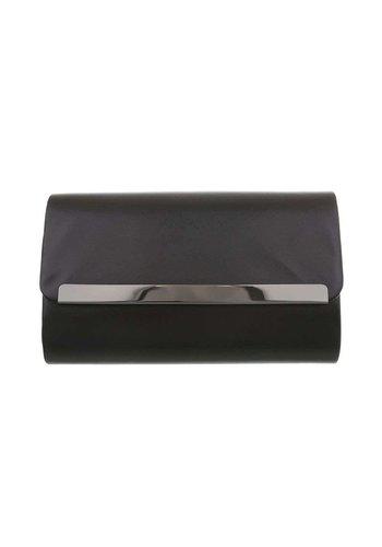 Neckermann Damentasche - schwarze Lederoptik