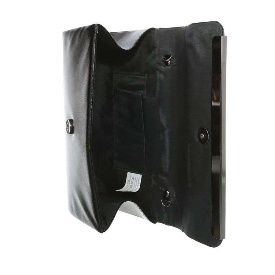 Damentasche - schwarze Lederoptik
