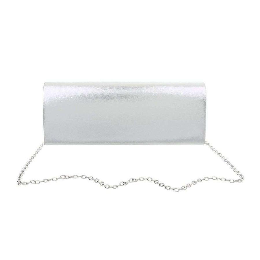 Damen Abendtasche - Silber