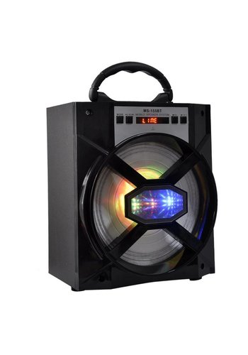 Neckermann Bluetooth-Lautsprecher - LED-Licht - schwarz
