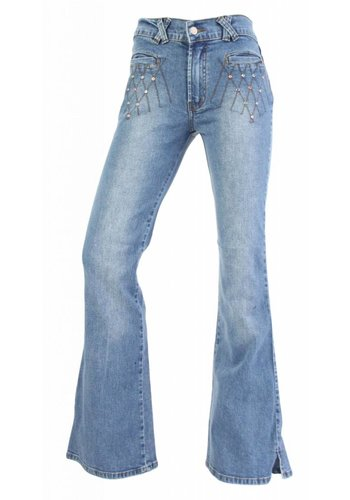 Neckermann Damen Jeans Regular Fit - hellblau