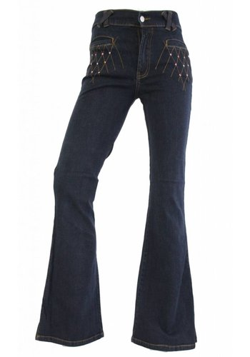 Neckermann Damen Jeans Regular Fit - dunkelblau
