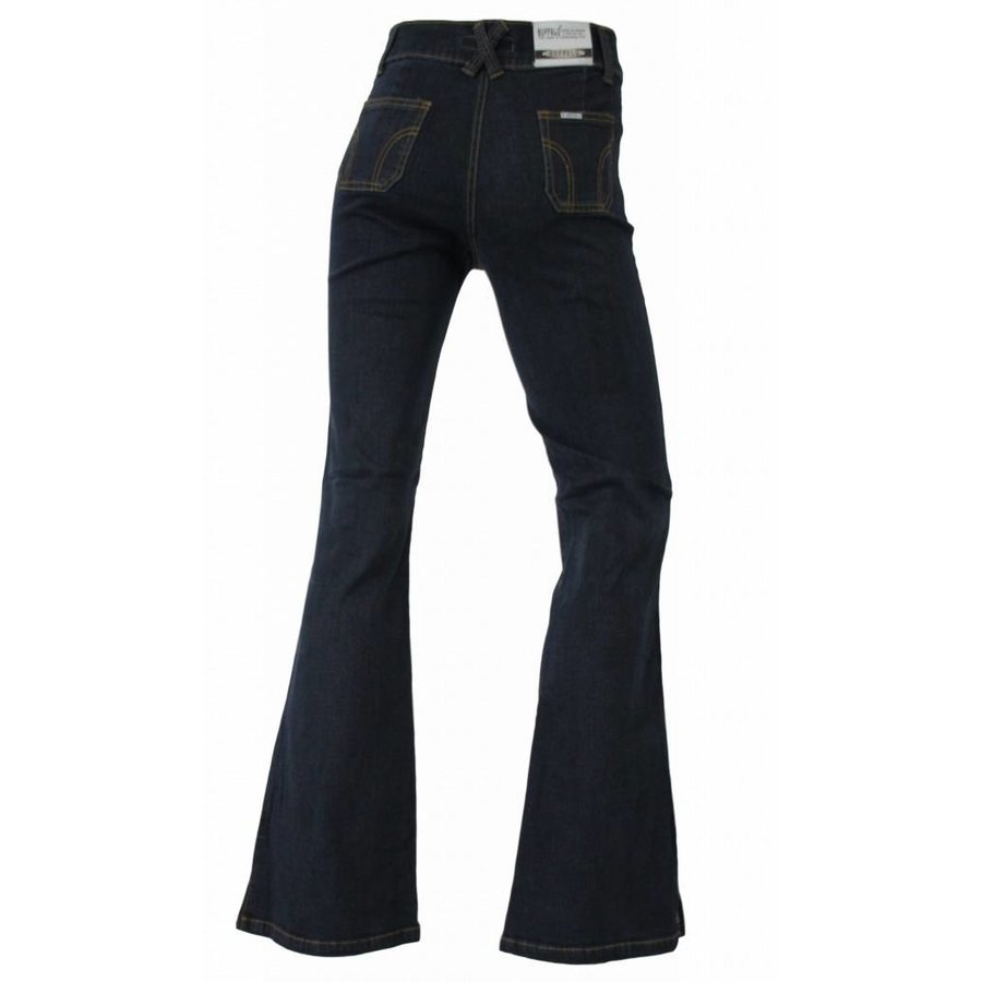 Damen Jeans Regular Fit - dunkelblau