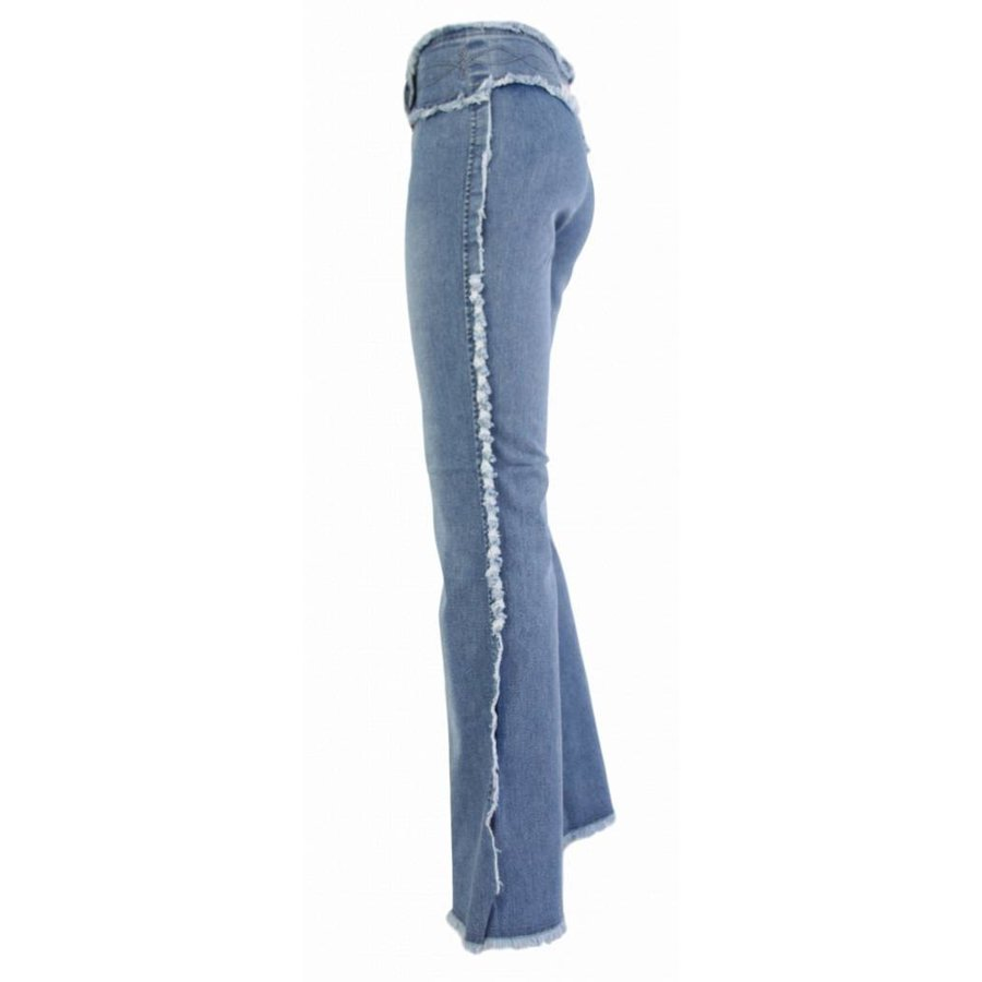 Damen Jeans Regular Fit - blau