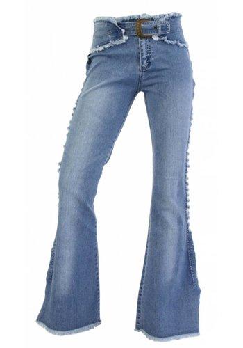 Neckermann Jeans femme coupe classique - bleu
