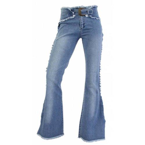 Neckermann Dames Jeans regular fit - blauw