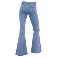 Damen Jeans normal geschnitten - blau