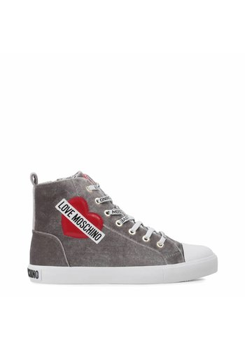 Love Moschino Mesdames Sneakers Love Moschino Gris