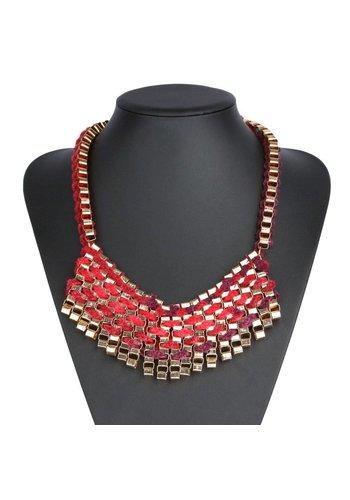 Neckermann Damen Halskette - rot