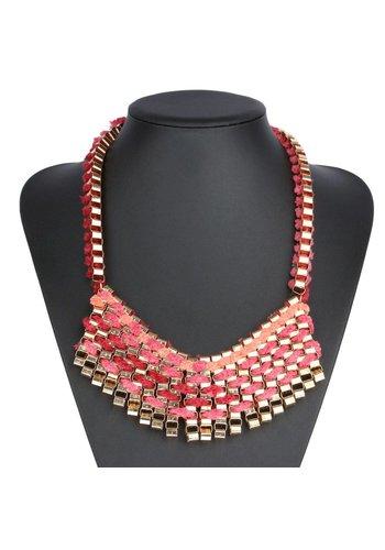 Neckermann Damen Halskette - pink
