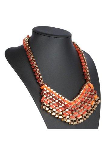 Neckermann Damen Halskette - Orange