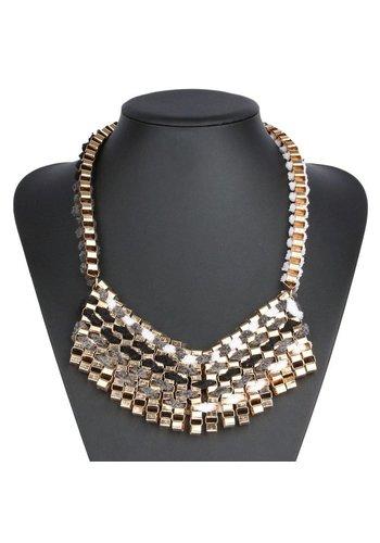 Neckermann Damen Halskette - grau
