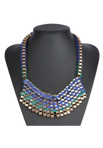 Neckermann Damen Halskette - blau