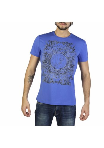 Versace Jeans Herren T-Shirt B3GRB71A36598 - blau