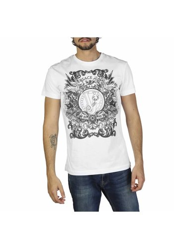 Versace Jeans T-shirt pour hommes B3GRB71A36598 - blanc