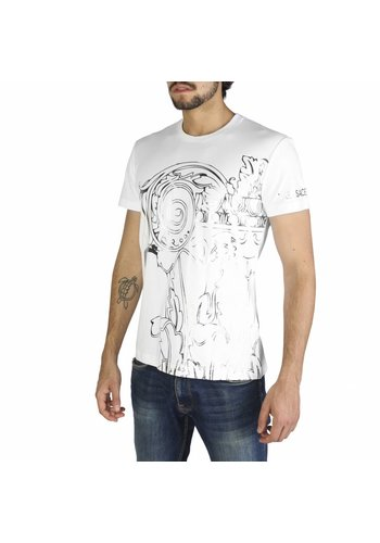 Versace Jeans Heren T Shirt  2018 summer collection - wit